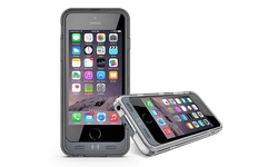 Press Play Battery Case for iPhone 6 - Black with Clear Frames