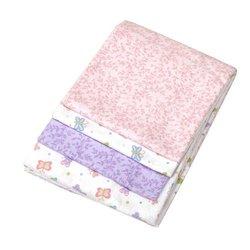 Carters Wrap Me Up Receiving Blanket, 4 Pack, Pink
