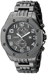 August Steiner Men's Watch - Black Band/Black Dial (ASGP8140BK)