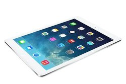Apple iPad Air 64GB Wi-Fi + 4G AT&T - White/Silver (MF012LL/A)