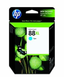 HP 88XL Cyan Officejet Ink Cartridge c9391an