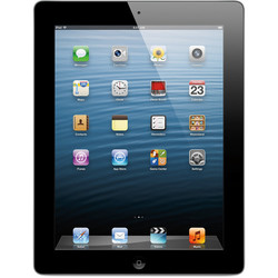 "Apple iPad 4 9.7"""" Tablet 32GB Wi-Fi + Verizon - Black (MD523LL/A)"" 143883"