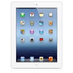 Apple iPad 3rd Generation 64GB Wi-Fi Tablet - White (MD330LL/A)