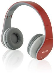 iLive IAHB64R Bluetooth Headphones (Red)