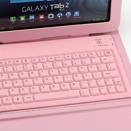 SUPERNIGHT Bluetooth Keyboard Cover Case for Samsung Galaxy