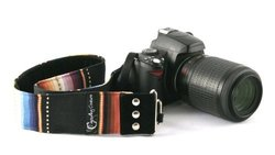 "Navajo Black 2"" DSLR Camera Strap"