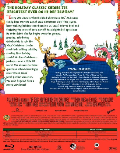 How The Grinch Stole Christmas Blu Ray.Dr Seuss How The Grinch Stole Christmas Blu Ray Check Back Soon
