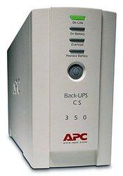 APC BK350EI Back-UPS CS 350 230 Volts Only