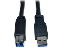 Tripp Lite USB 3.0 SuperSpeed Active Repeater Cable (AB M/M) 25-ft. (U328-025)