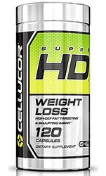 Cellucor Super HD Thermogenic Fat Burner Weight Loss Supplement -120 Count