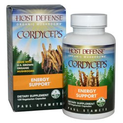 Fungi Perfecti Host Defense Cordyceps Capsules, 120 Count