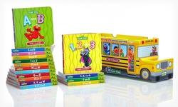 BookCloseOuts Sesame Street 16-Book Bus Box