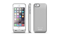 Press Play Extended Battery Case for iPhone 6/6s: Silver