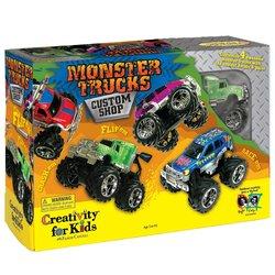 Creativity For Kids Monster Trucks Kit Custom Shop (CFK1166) 303800