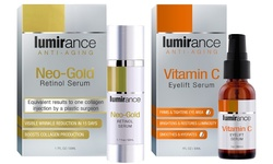 New Lumirance Neo-Gold Retinol Serum & Vitamin C Kit