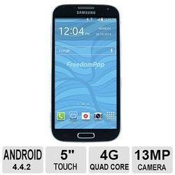 Samsung Galaxy S4 No-Contract Smartphone for Freedom Pop - Black