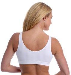 Majamas Womens' The Easy Bra - White - Size: Medium