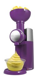 Swirlio Frozen Fruit Dessert Maker - Purple
