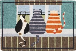 Inside Looking Out Doormat-JellyBean Rug