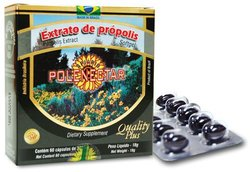 Polenectar 60 Softgels Brazil Green Bee Propolis