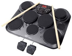 Pyle-Pro Electronic Table Digital Drum Kit Top 7 Pad Kit PTED01