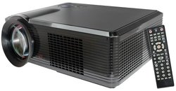 Pyle Widescreen LED Projector With Built in Speakers (PRJLE33)