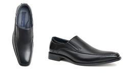 Joseph Abboud Men's Leather Dress Shoes - George/Black - Size: 8