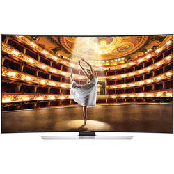 "Samsung 78"" Curved 4K Ultra HD 3D Smart LED TV - 120Hz (UN78HU9000)"