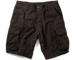 Uf Vintage Black Cargo Short, Small