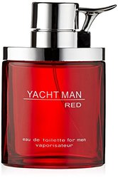 Myrurgia Yacht Man Red Eau De Toilette Spray for Men - 3.40 Ounce