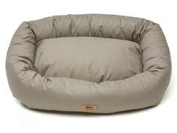 West Paw Design Stuffed Dog Bed - Walnut - Medium