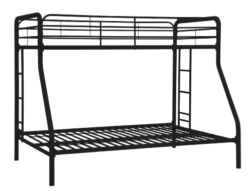 Dorel Home Products Twin Over Full Bunk Bed Black Check Back Soon