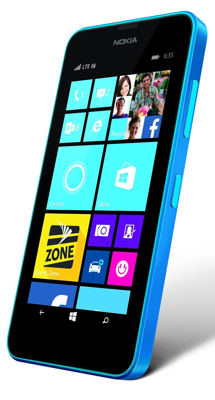 Nokia Lumia 635 8gb No Contract Smartphone For Sprint Cyan Check Xl