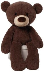 Gund Fuzzy Chocolate Jumbo Bear Plush