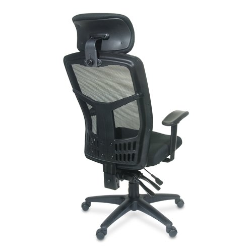 Interion Multifunction Office Chair With Headrest Arm Rests Black Check Back Soon Blinq