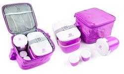 Bentgo Lunch Box Set built-in silverware - Purple