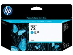 HP 72 130ml Cyan Ink Cartridge