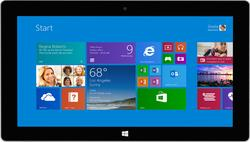 """Microsoft Surface 2 10.6"""" Tablet 64GB - Magnesium Silver (P4W-00001)"""