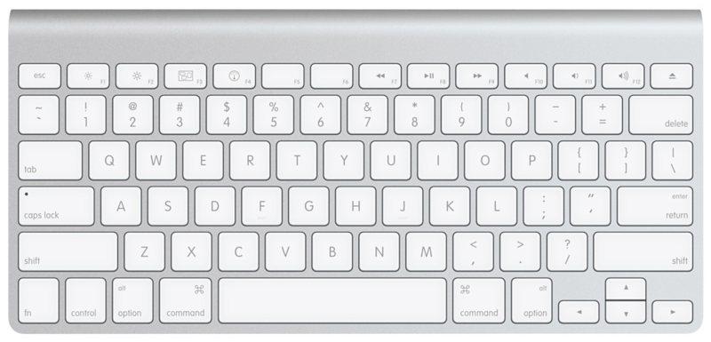 dd648b9c88e Apple Wireless Bluetooth Keyboard - Silver (MC184LL/B) - Check Back ...