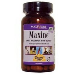 Country Life Maxine for Women's - 120 Tablets