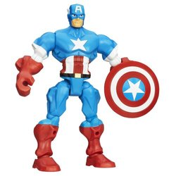 Marvel Super Hero Mashers Captain America Figure 375284