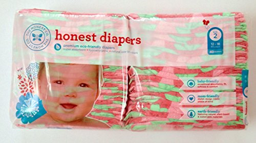 The Honest Company Girls Diapers Size 2