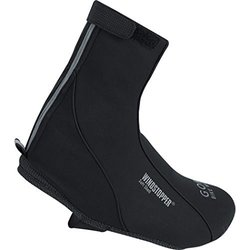 Gore Bike Wear Men's Windstopper Soft Shell Overshoes - Black - Size: 44