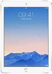 "Apple iPad Air 2 9.7"" Tablet 128GB Wi-Fi + Cellular - Gold (MH332LL/A)"