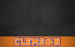 FANMATS NCAA Clemson University Tigers Vinyl Grill Mat