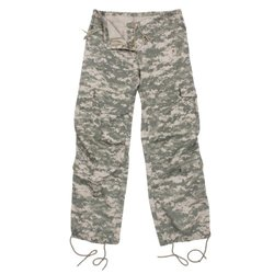 Rothco Women's Vintage Paratrooper Fatigues Pants - ACU Digital - Small