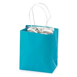 Mini Turquoise Gift Bags 2 dz