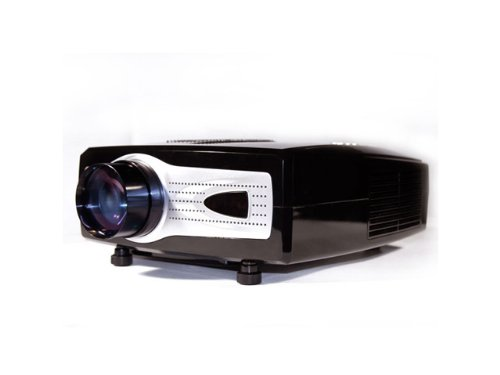 Vvme Led Hdmi 1080p Video Projector Blackgrey Vvme Htpcd V01b