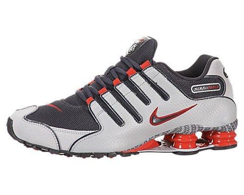 meet 5699d 5318b Nike Shox NZ EU Mens Running Shoes - Orange/Black - Size: 9 ...