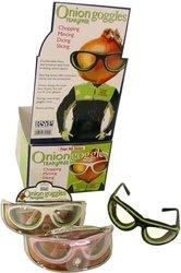 RSVP International Onion Goggles, Black